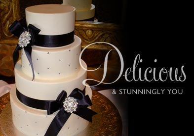 Delicious and Stunningly You Wedding Cake