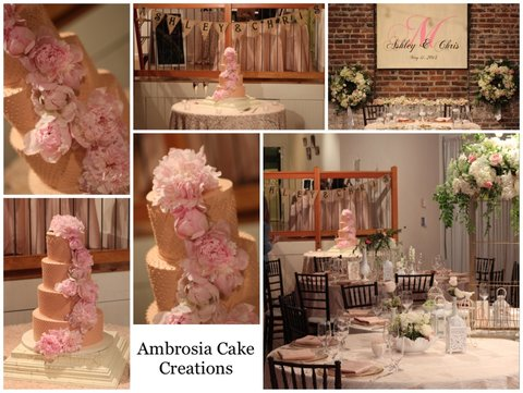 Cake Decorating Classes Raleigh Nc : Vintage Wedding Downtown Raleigh, NC - Ambrosia Cake Creations