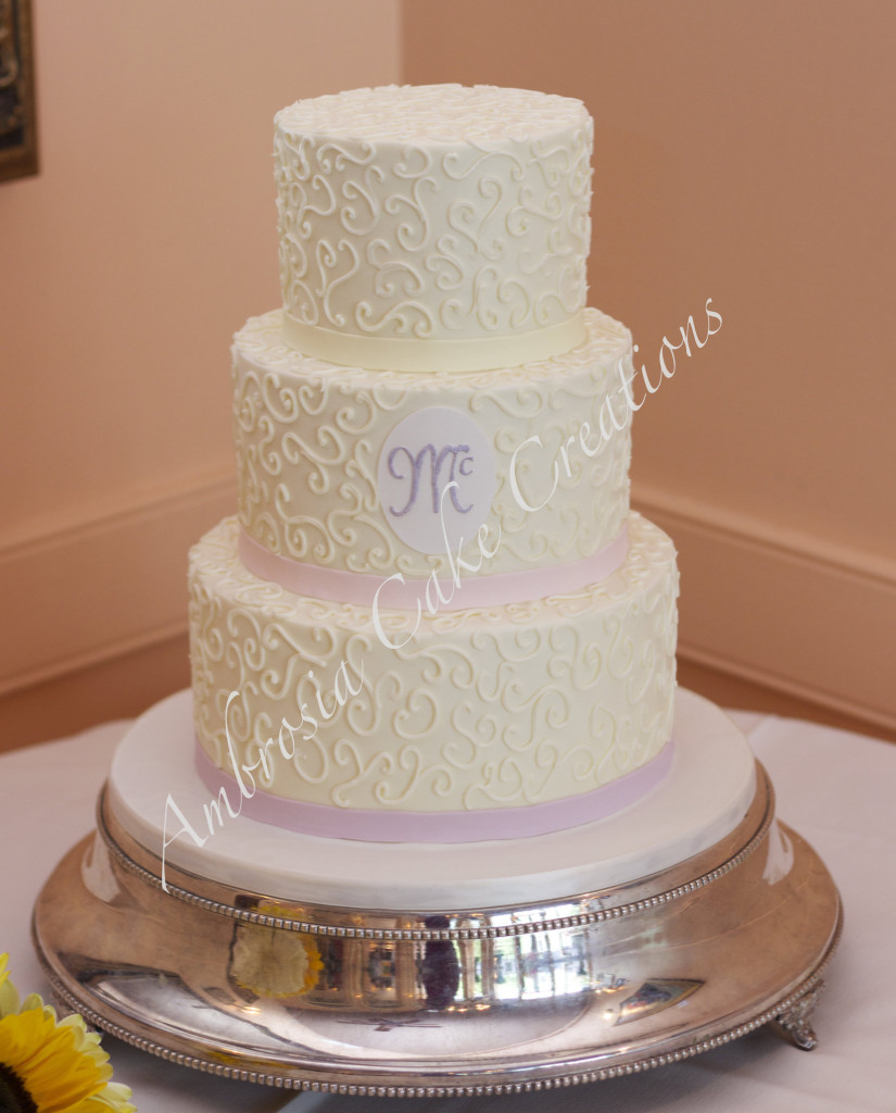 Cake Decorating Classes Raleigh Nc : Intimate wedding in Raleigh, NC - Ambrosia Cake Creations