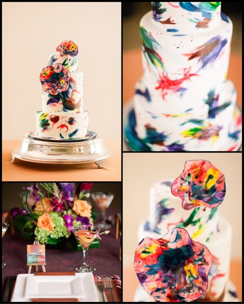 Chic Modern Cake