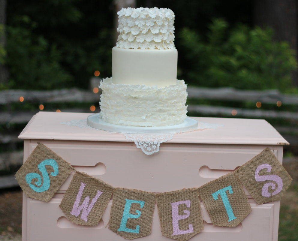 Country wedding cakes pictures - Rustic Country Wedding Cake